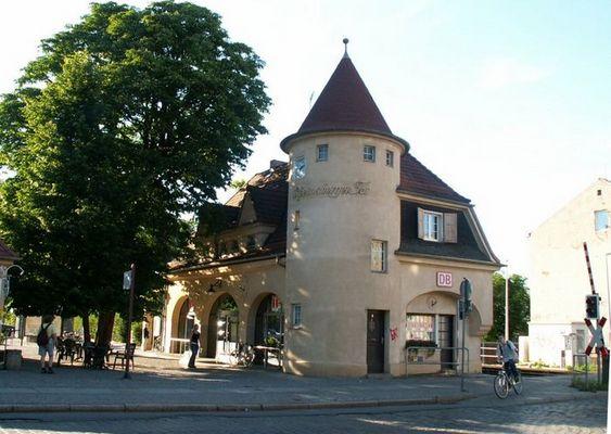 Bahnhof Neuruppin Rheinsberger Tor