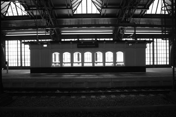 Bahnhof Neustadt 1910? nein 2012