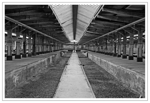 Bahnhof ohne Gleise