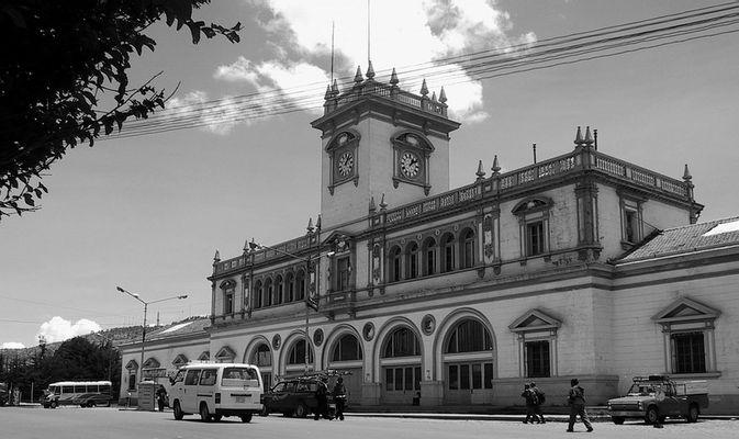 Bahnhof ohne Zug