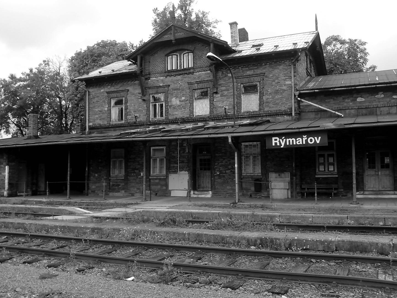 Bahnhof Rymarov (früher: Römerstadt)