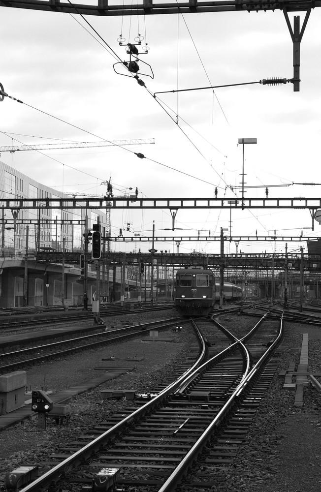 Bahnhof SBB in SW