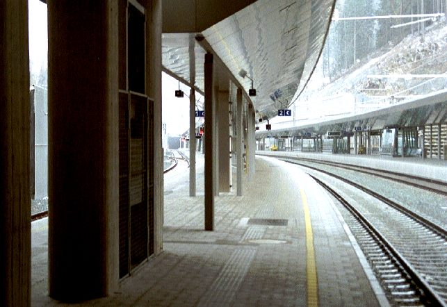 Bahnhof St.Anton am Arlberg