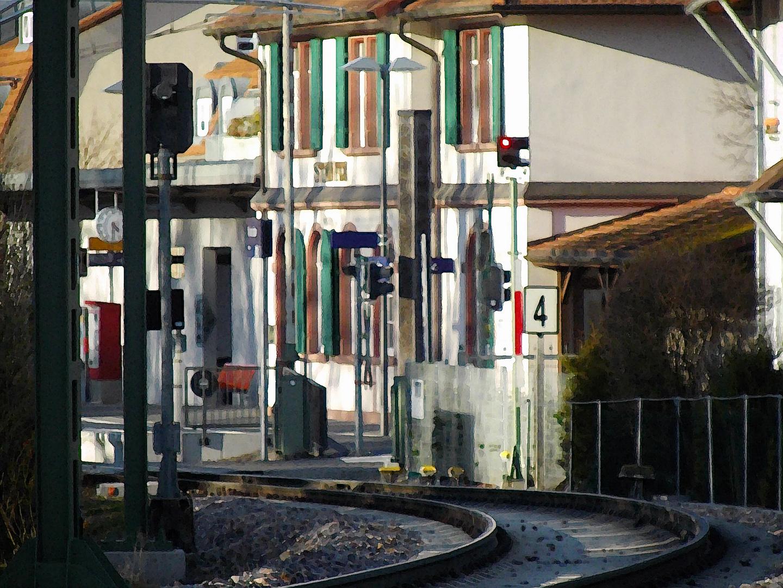 Bahnhof Staufen
