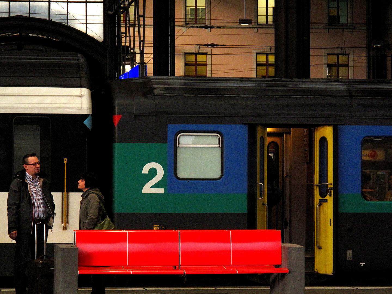 Bahnhof Stimmung
