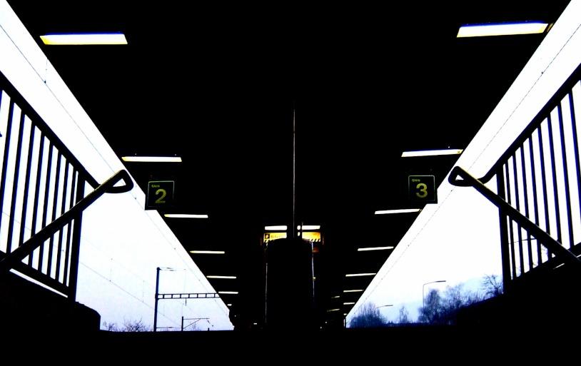 Bahnhof Treppe