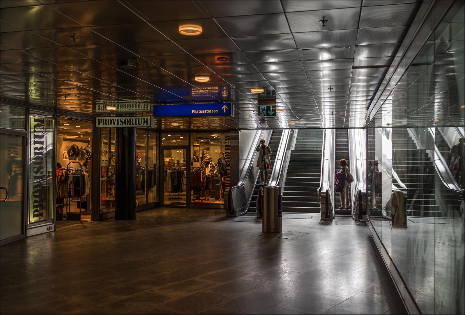 Bahnhof Unterführung in Luzern