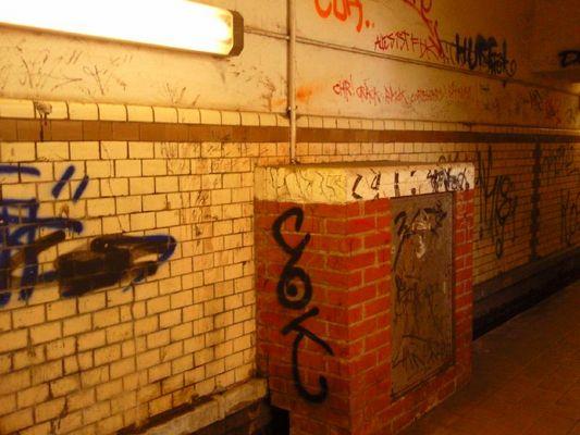Bahnhof Untergrund in Stendal
