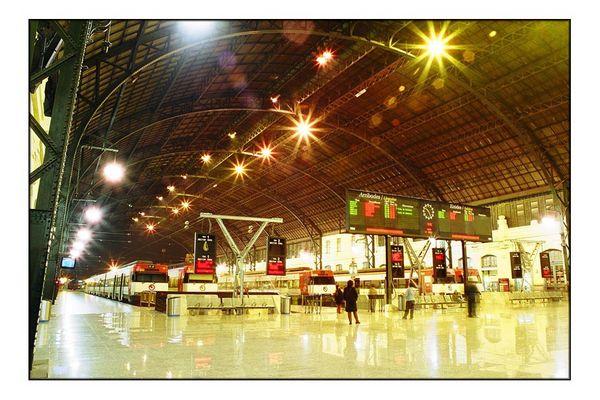 Bahnhof Valencia