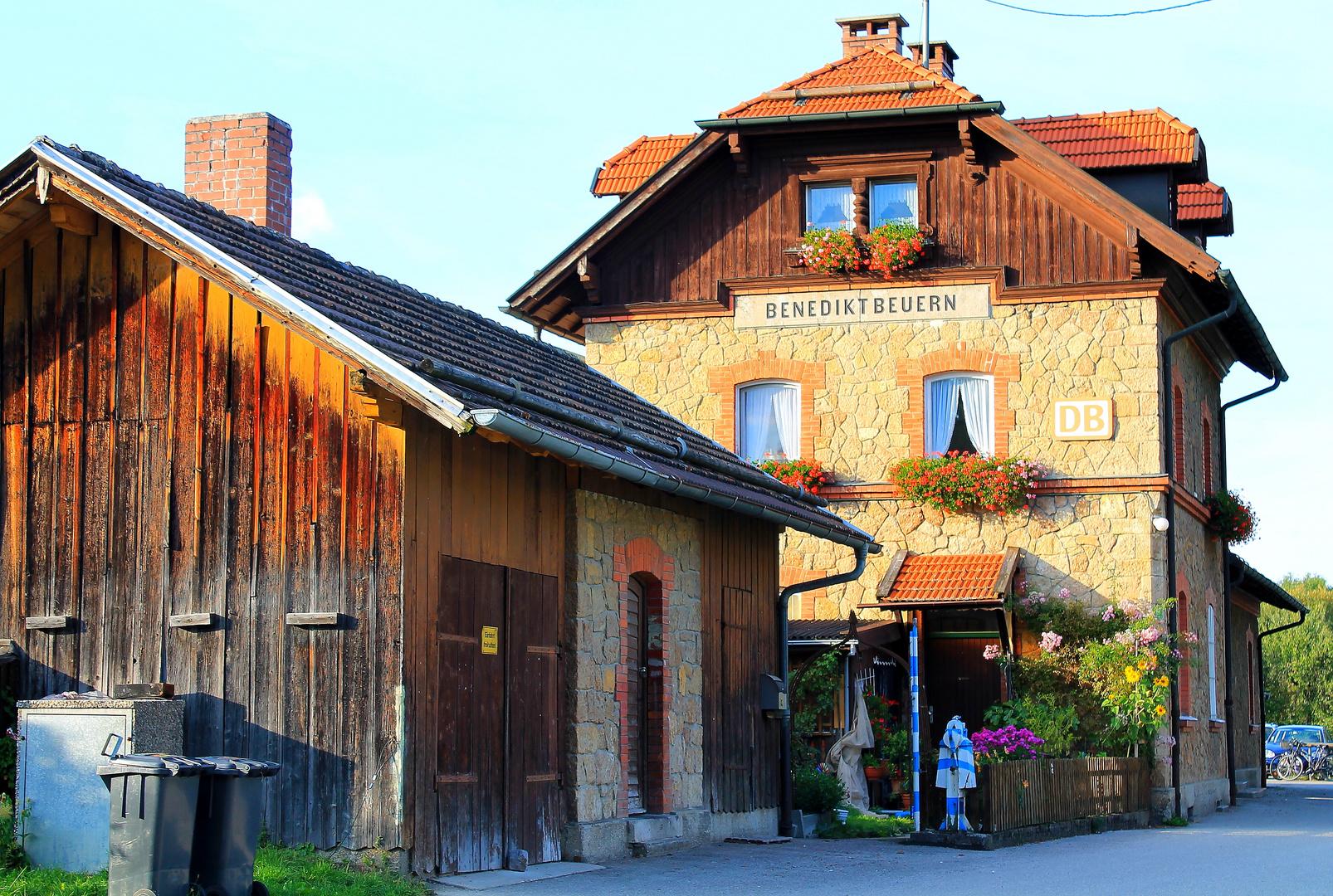 Bahnhof von Benediktbeuern