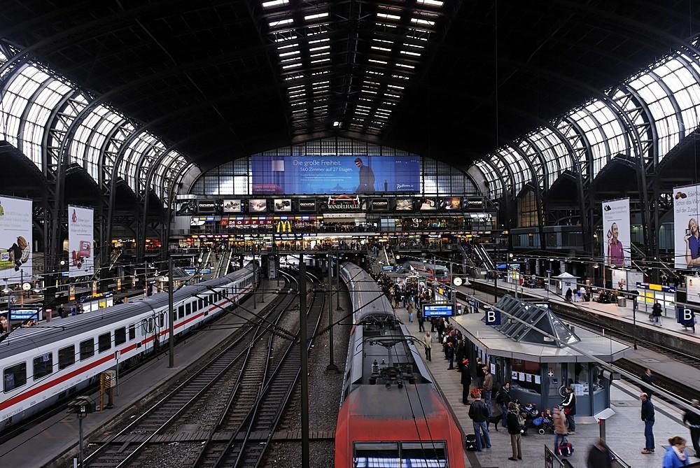 Bahnhof von Hamburg