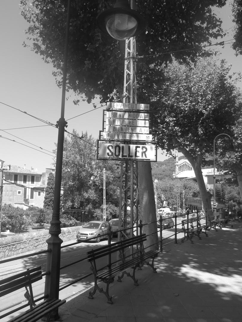 Bahnhof von Soller