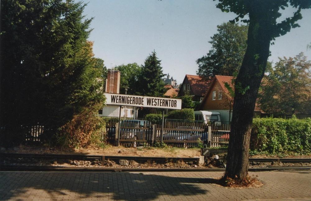 Bahnhof Wernigerode Westerntor