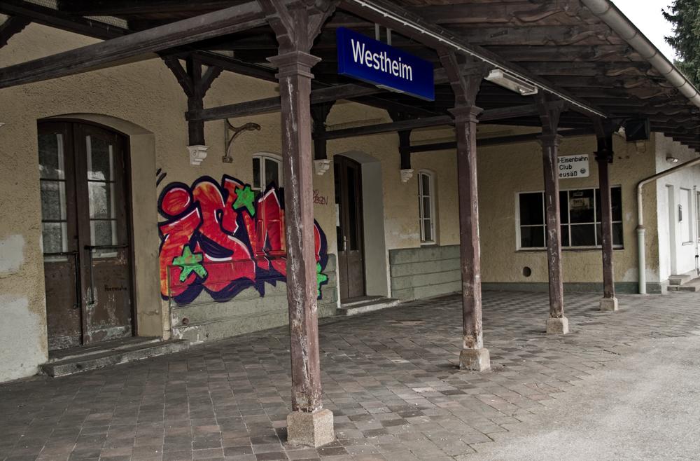 Bahnhof Westheim