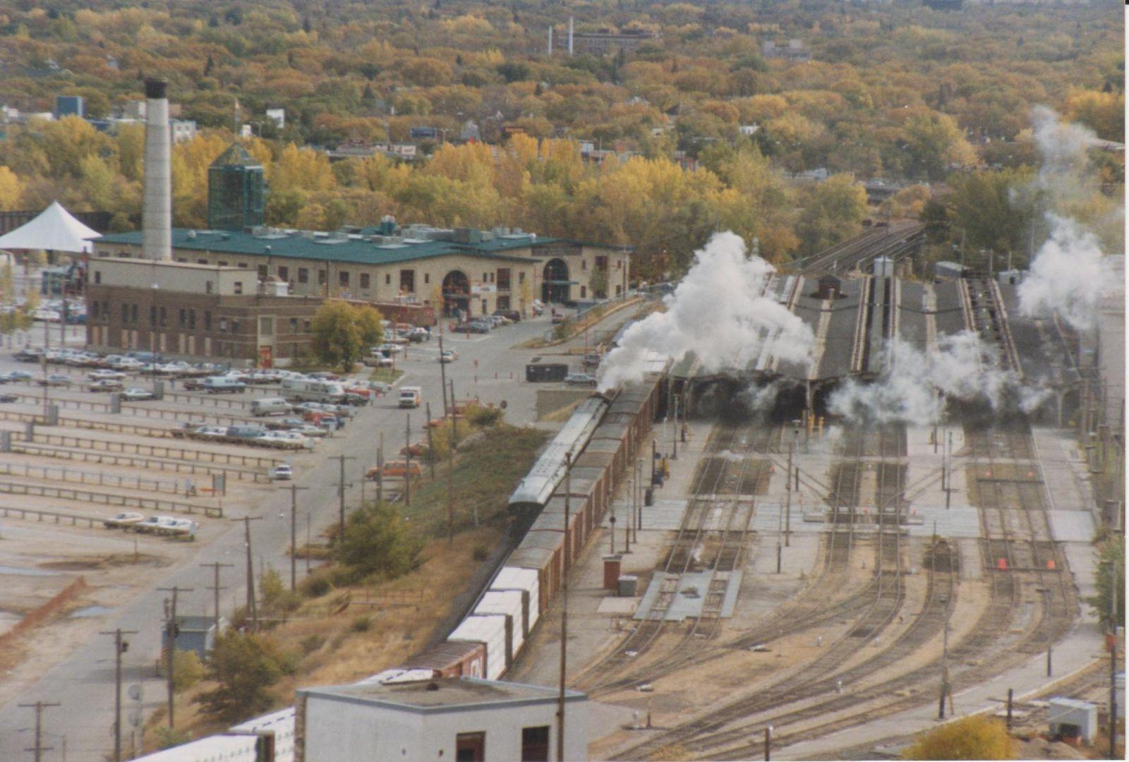 Bahnhof Winnipeg / Manitoba Kanada