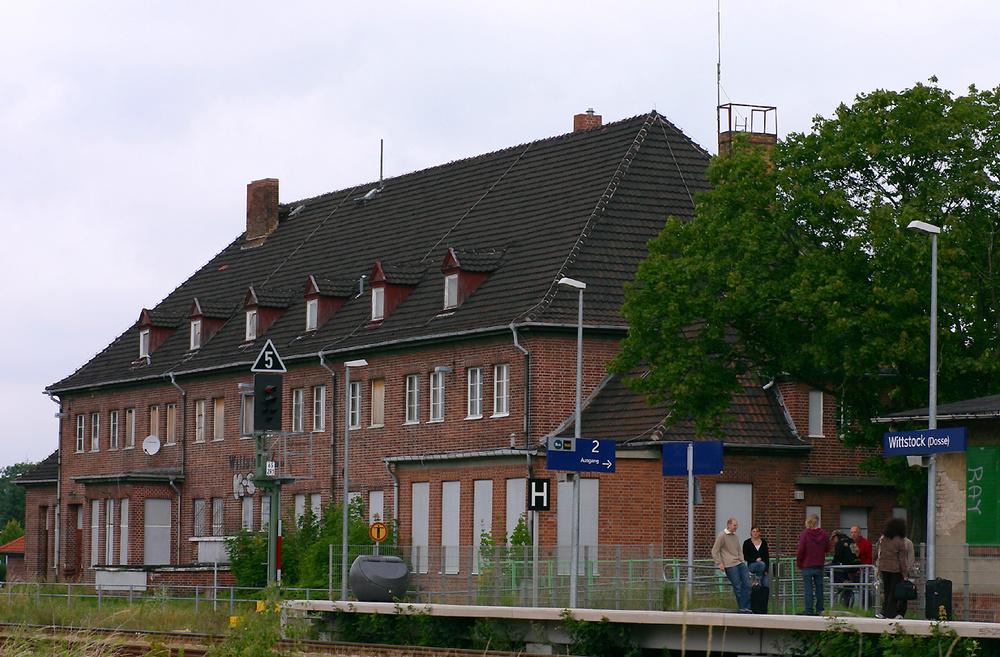 Bahnhof Wittstock/Dosse