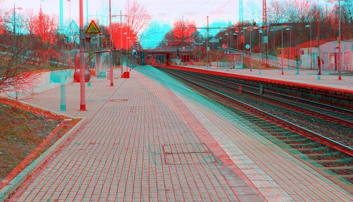 Bahnhoff II (3D rot/cyan Brille)