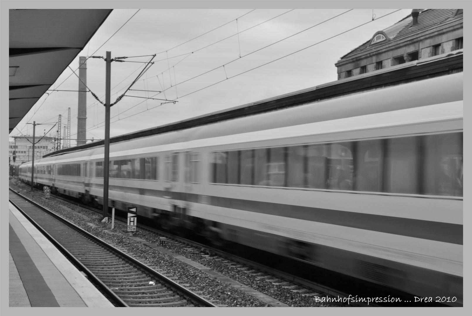 Bahnhofs- impression