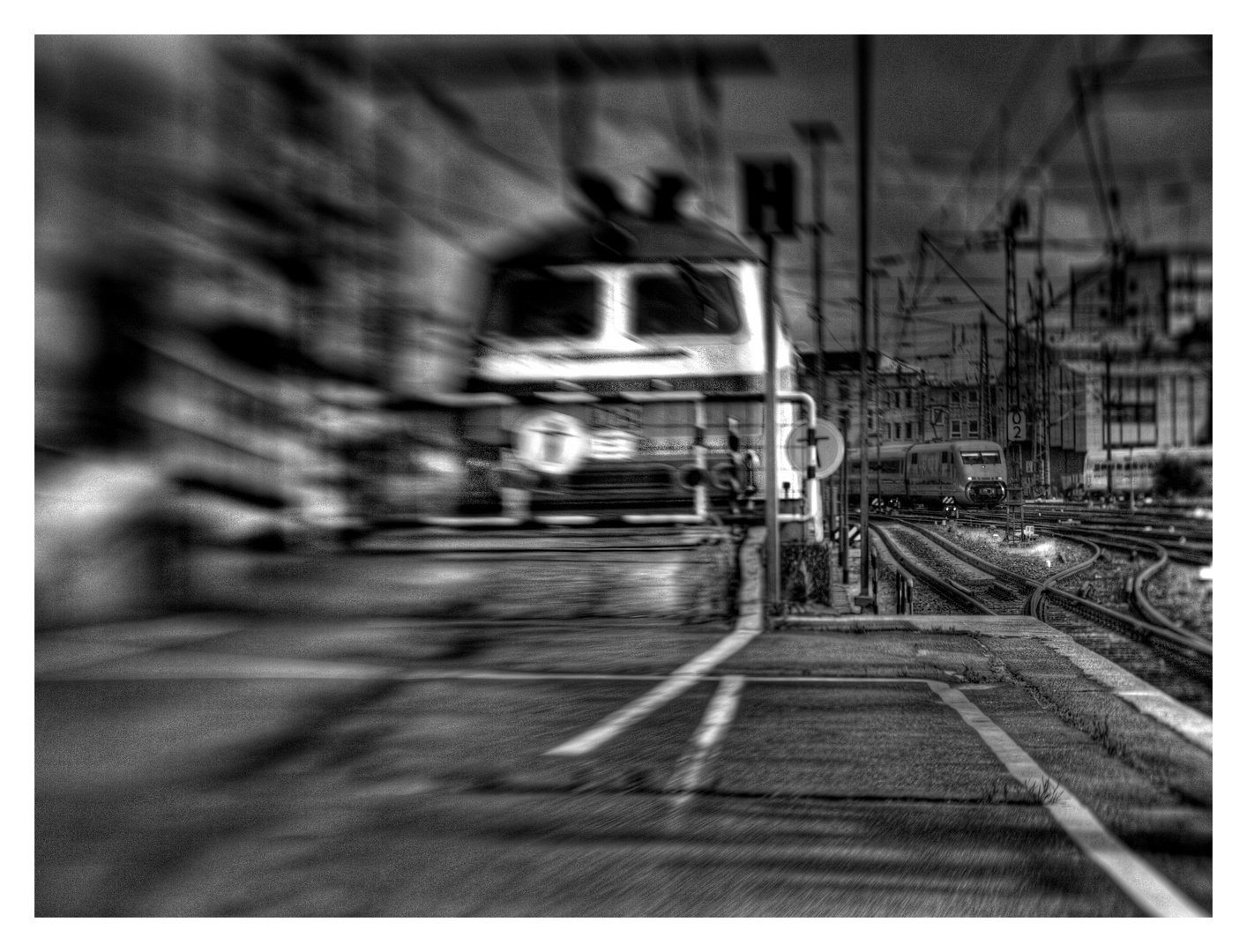 Bahnhofsbild ...