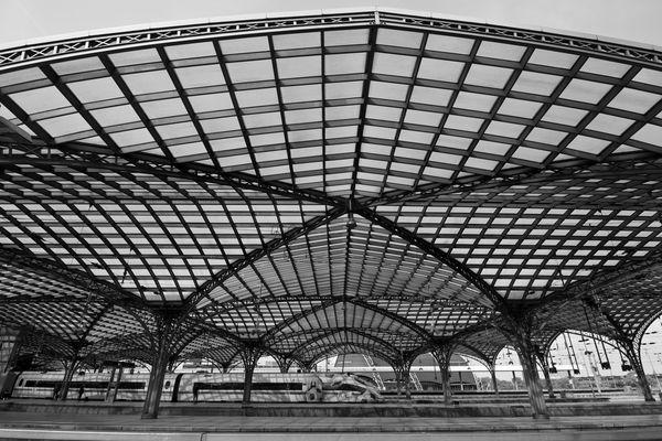 Bahnhofsdach