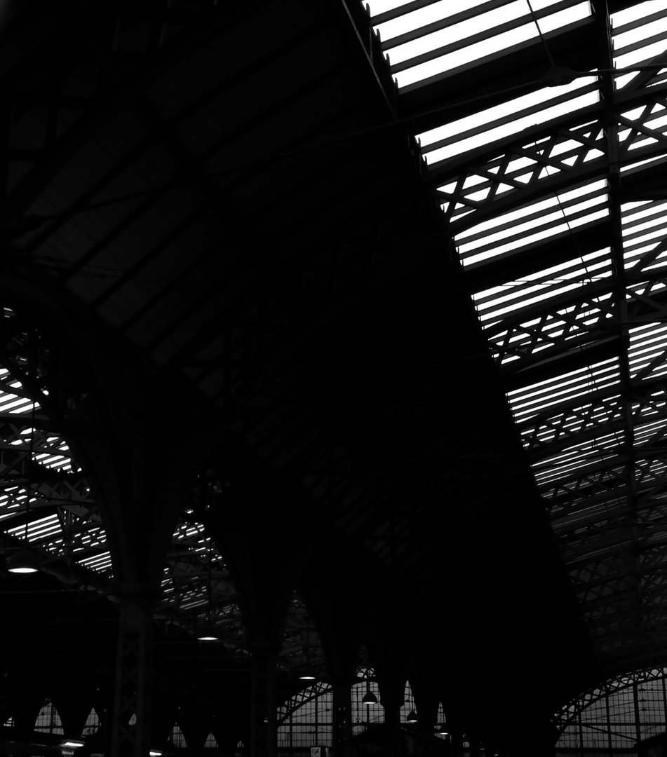 Bahnhofsdach Kopenhagen