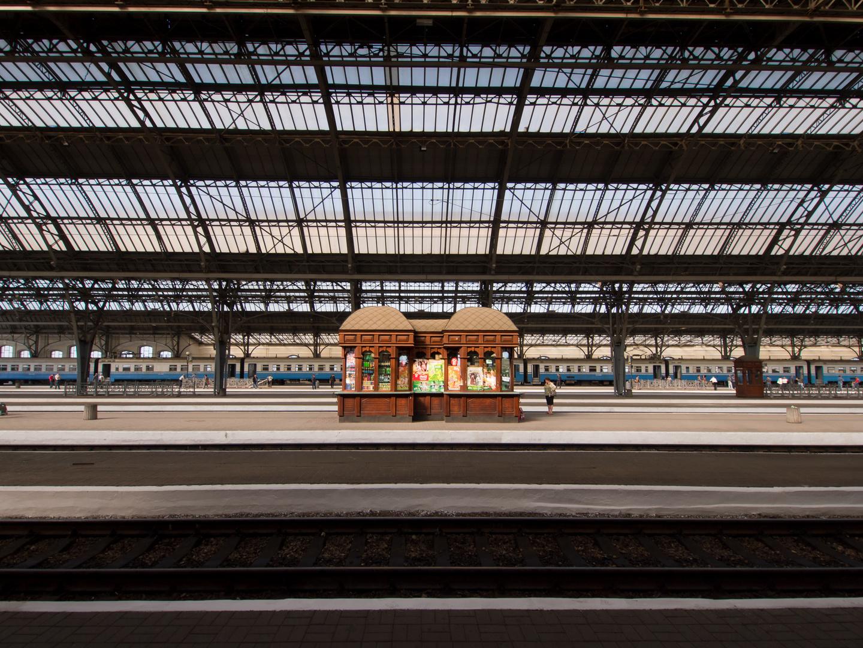 Bahnhofshalle L'viv