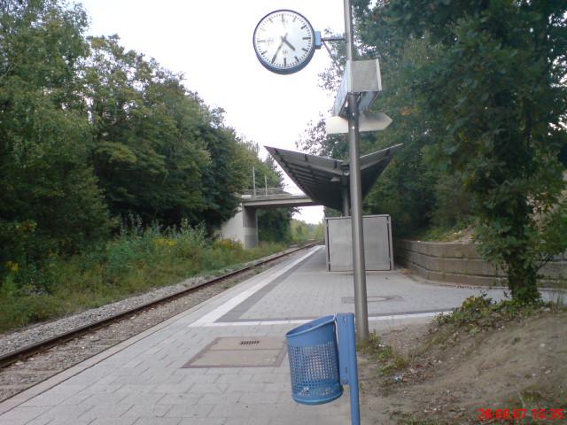 Bahnhofsöde in Bayern ...