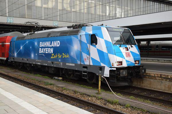 Bahnland Bayern Lok