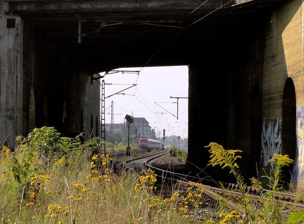 Bahnraum Augsburg - Ersatz-ICE