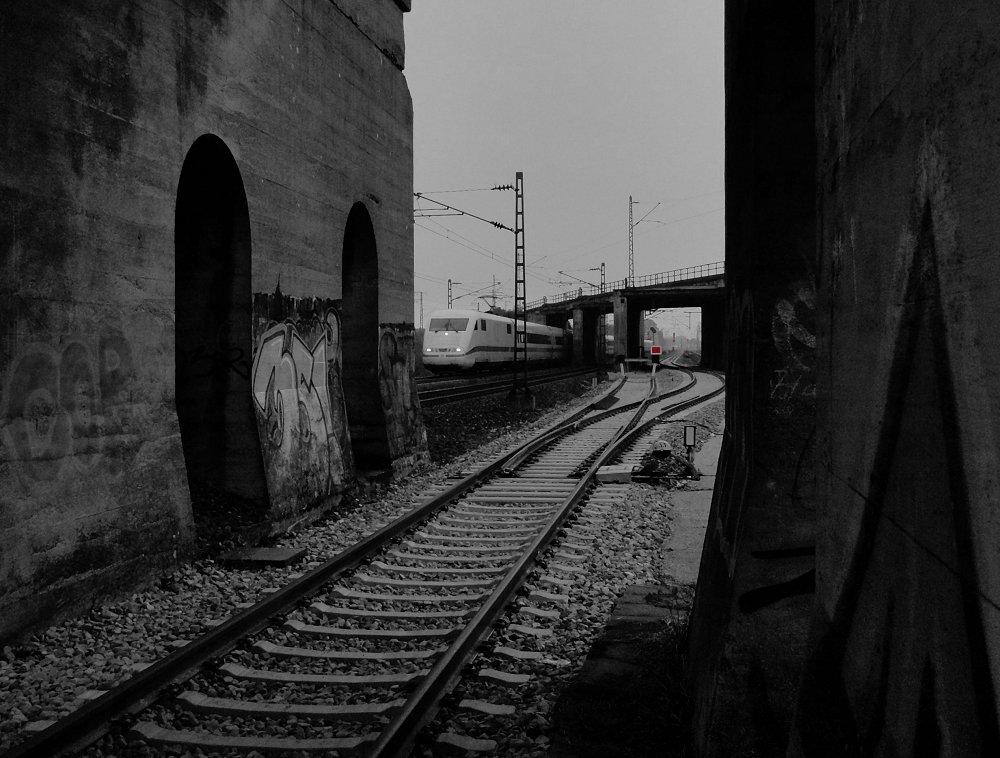 Bahnraum Augsburg - Nicht mehr wirklich schön ...