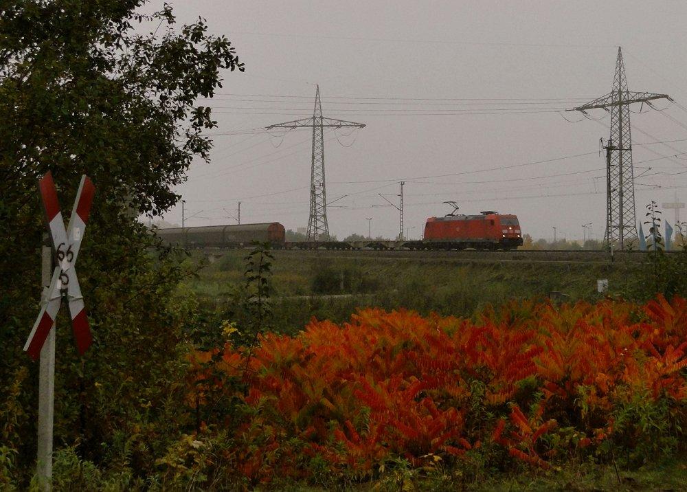 Bahnraum Augsburg - Rotstich