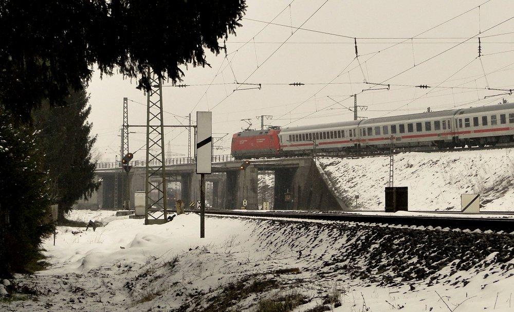 Bahnraum Augsburg X - Überwerfung