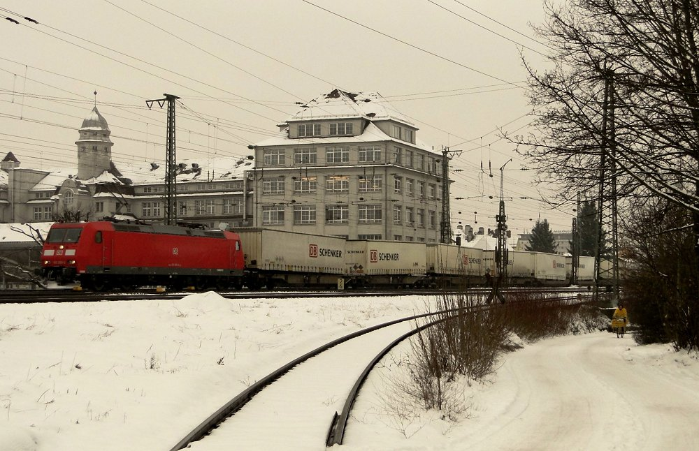 Bahnraum Augsburg XIII - 13 ist eine gute Zahl