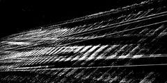 Bahnschienen abstrakt