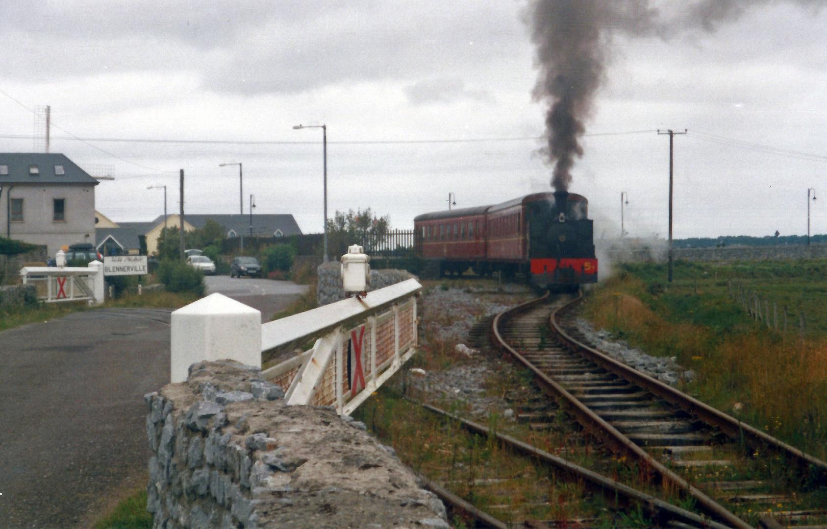 Bahnschranke verkehrt