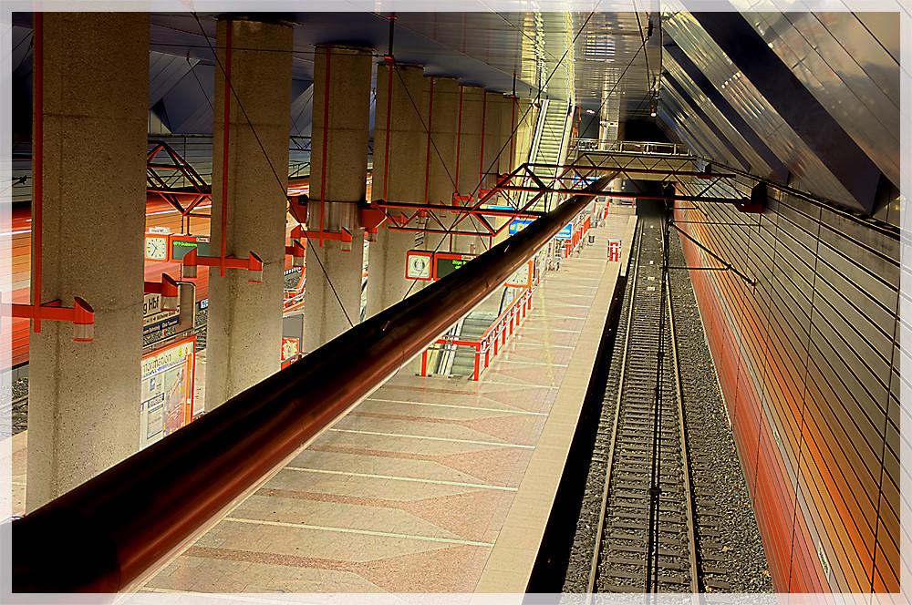 Bahnsteig Duisburg Hauptbahnhof