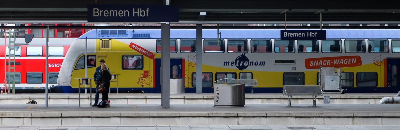 Bahnsteig-Impression