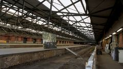Bahnsteige ehem. Güterbahnhof