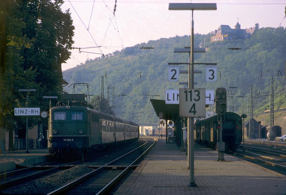 Bahnsteigimpressionen
