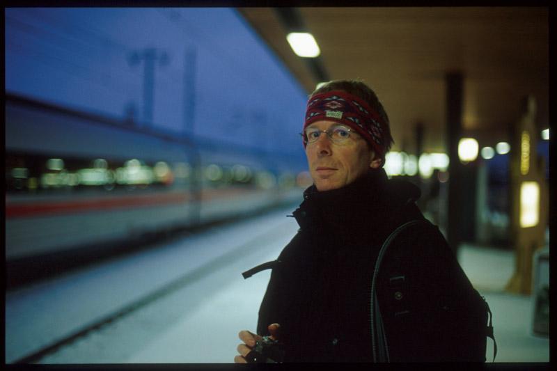 Bahnsteigportrait
