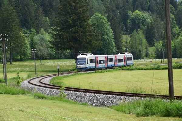 Bahnstrecke Bayrischzell-München