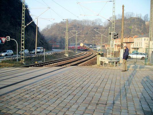 Bahnübergang Felsenkeller Dresden II