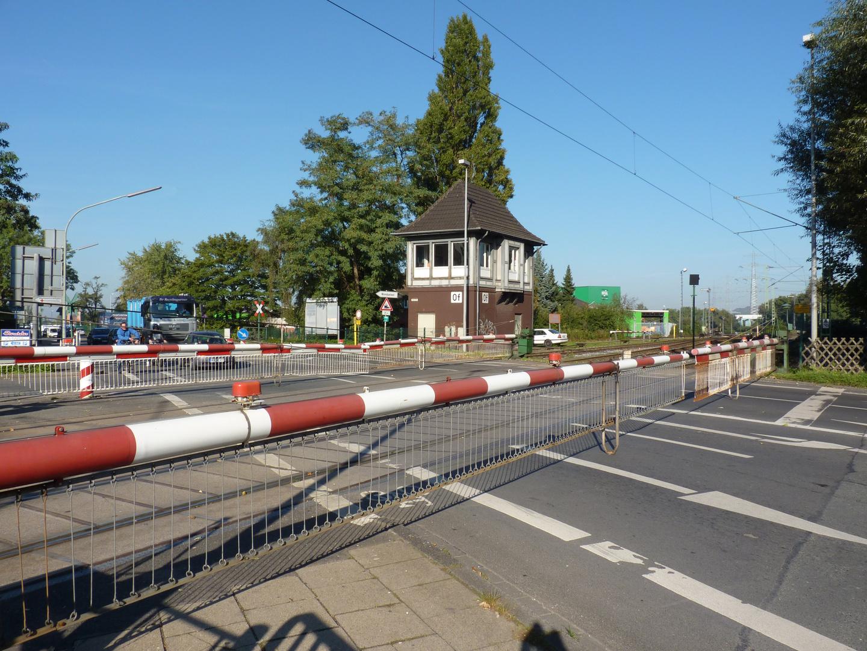 Bahnübergang Heerstraße in Wanne-Eickel