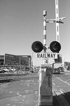 Bahnübergang in Christchurch
