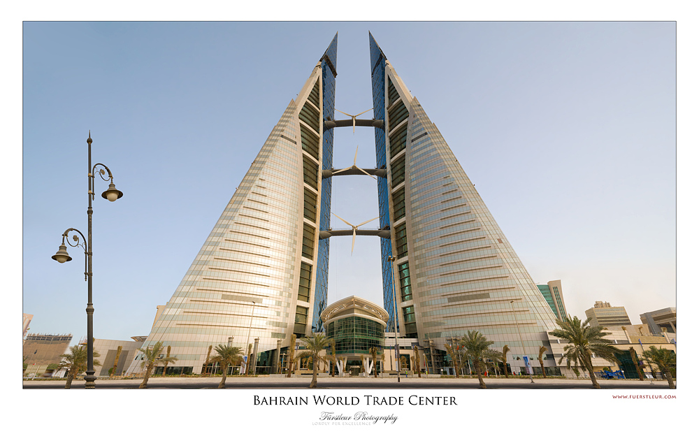 Bahrain World Trade Center (WTC) (576 Megapixel)