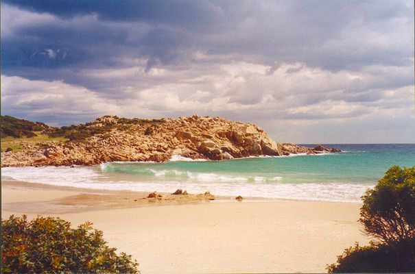 Baia de Chia, Westküste Sardinien