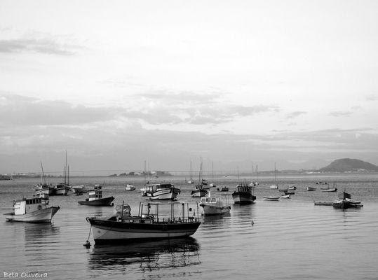 """Baía de Guanabara"" em P&B"