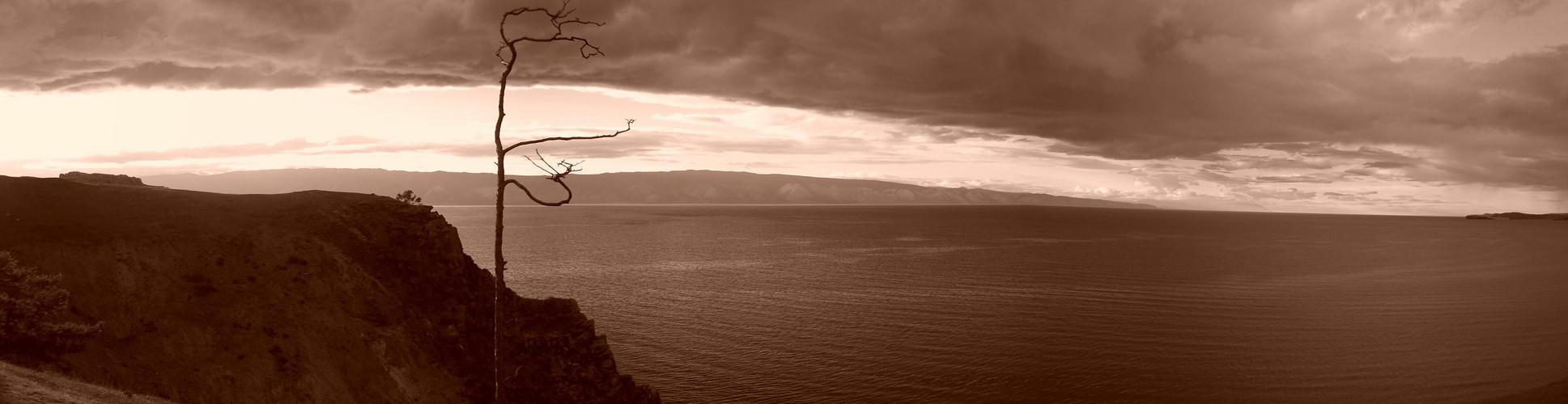 Baikalsee mit Olchon - Horn