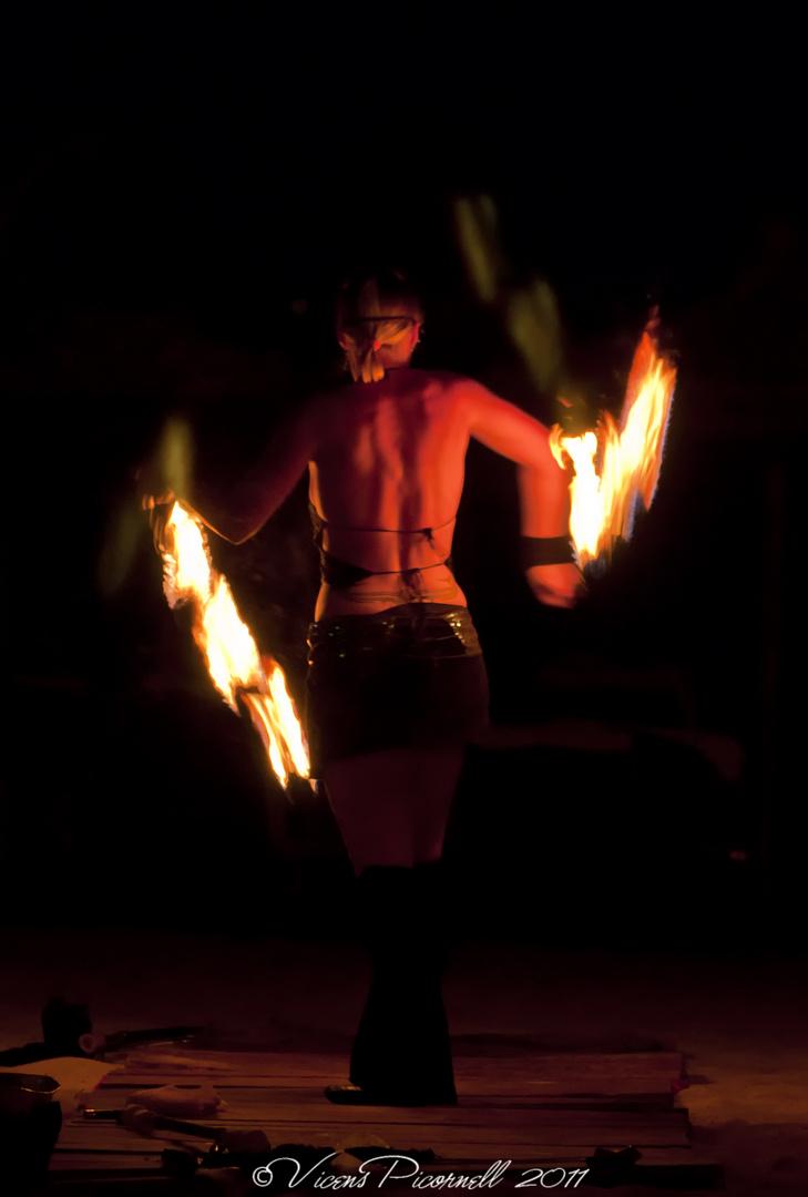 bailando con fuego1
