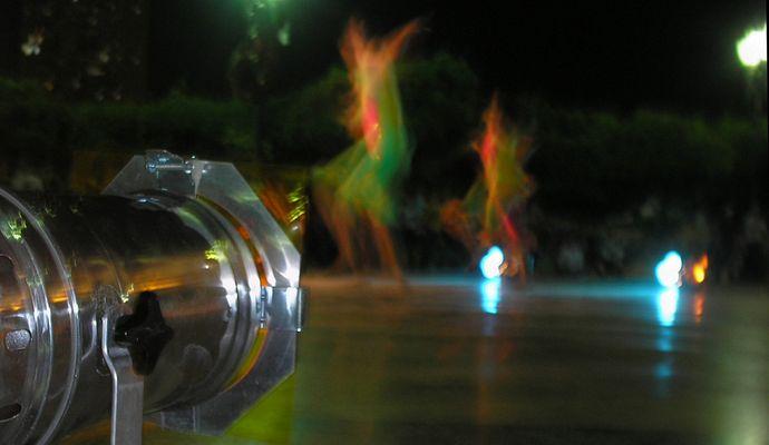bailando entre colores